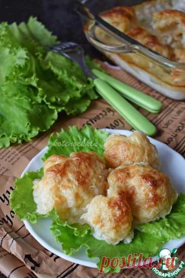 Цветная капуста, запеченная с маскарпоне – кулинарный рецепт