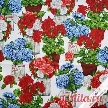 Cottage Flowers   Мастерская «СУНДУК» Ткань для пэчворка в отрезах. В этом разделе представлен 100 % качественный хлопок от ведущих американских и европейских производителей. Прекрасно подойдёт для изготовления одеял, покрывал, сумок, аппликаций, панно в технике пэчворк; для пошива игрушек, текстильных кукол; для работы в технике скрапбукинг и различных декоративных работ.Ткань мало осыпаемая на срезах, не линяет при стирке, почти не дает усадки.Рекомендации по уходу...