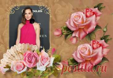 Красотка Галь Гадот в розовом платье с цветком на шее | Вокруг интернета | Яндекс Дзен