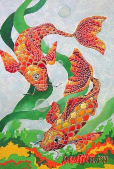 (8) Gallery.ru / Фото #1 - Мозаика из линолеума - Biryuza