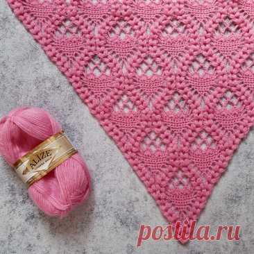 Не могу налюбоваться! Очень красивая шаль крючком. Мастер-класс | Natali_crochet | Яндекс Дзен