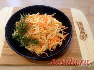Салат из жареного корневого сельдерея - пошаговый рецепт с фото на Повар.ру