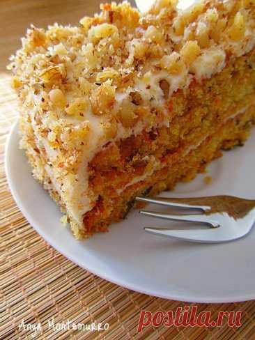 АНГЛИЙСКИЙ МОРКОВНЫЙ ТОРТ (CARROT-CAKE) - Foodclub — кулинарные рецепты с пошаговыми фотографиями — ЖЖ
