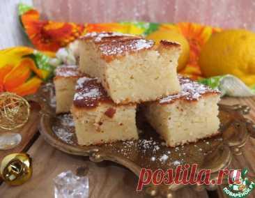 Лимонный пирог – кулинарный рецепт