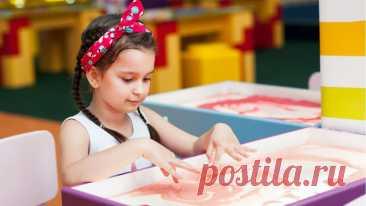 Рисование песком полезно любому ребенку, и вот почему - Телеканал «О!»