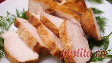Вместо колбасы на завтрак, или на ужин к гарниру Мясо Моментальное за 9 минут