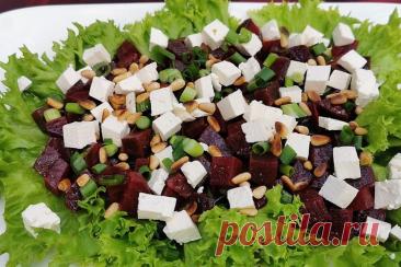 Простой и необычный салат из свеклы   ЯЖЕПОВАР   Яндекс Дзен