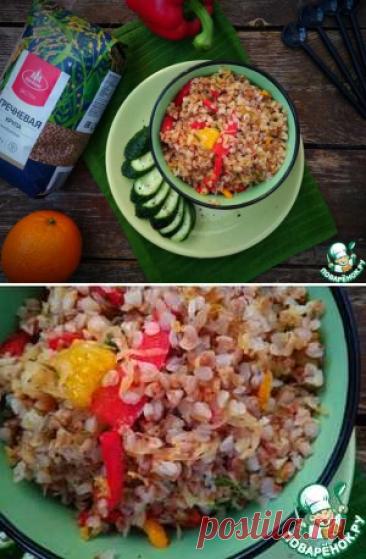 Гречка с болгарским перцем и апельсином   Вкусные кулинарные рецепты