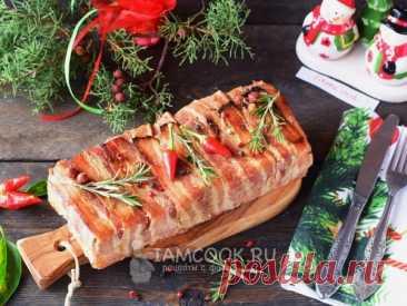 Террин с грибами — рецепт с фото Террин с грибами - красивейшее блюдо, которое однозначно украсит ваш новогодний стол!