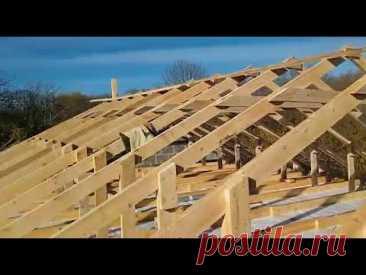 Махошевская, монтаж кровли, Арболит Юг строительство домов под ключ в Краснодарском крае