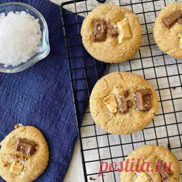 Печенье «Сникердудль» (Snickerdoodle) с шоколадной крошкой