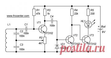 Простой металлоискатель – FROLOV TECHNOLOGY