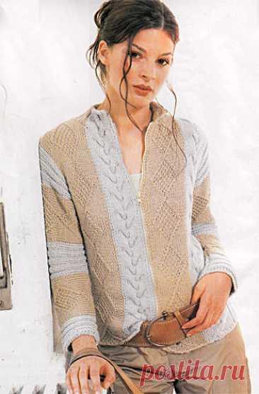 Gray-beige jacket