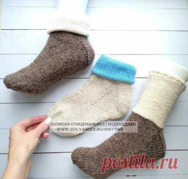 Как связать стильную и несложную манжету, которая делает носки (и варежки) дороже на вид