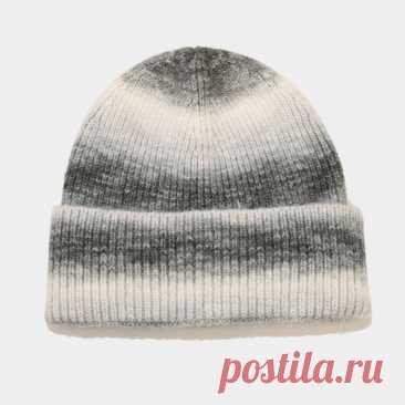2021 Модная вязаная шапка с принтом, зимние шерстяные шапочки, облегающие шапки для женщин и мужчин, Повседневные шапки в стиле хип-хоп | Аксессуары для одежды | АлиЭкспресс