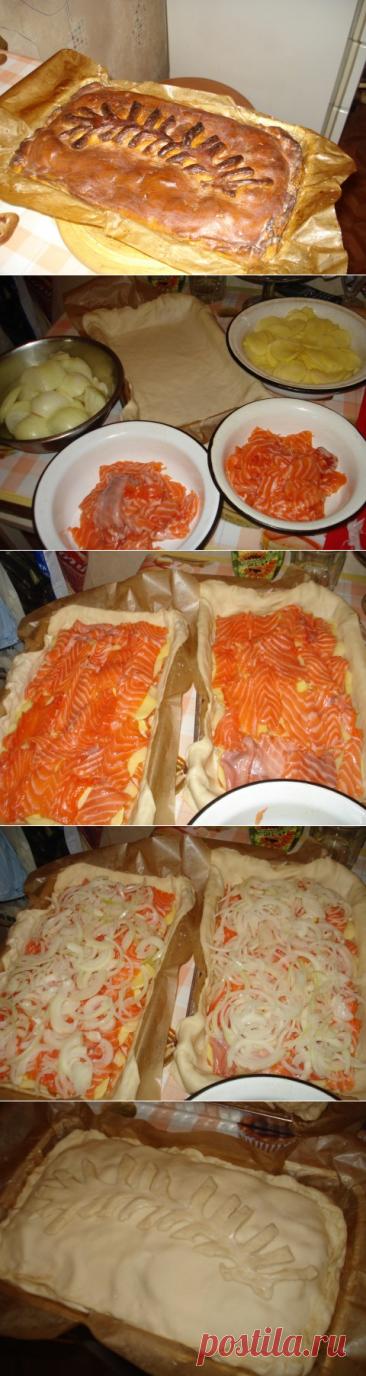 El pastel de pez - la receta, a que no menos 100 años. Mi querido