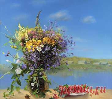 ༺🌸༻Живопись художницы Марины Захаровой