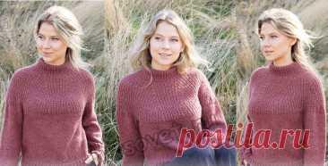 Вязание свитера Abstract Rose - Хитсовет