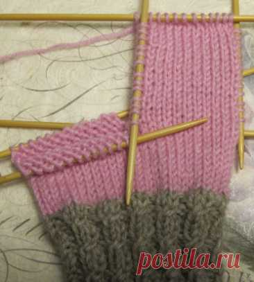 Чулки, простая лента, сужение каблука - Пуномо - рукоделие verkossaPunomo - рукоделие онлайн
