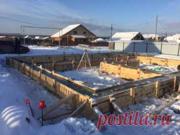 Можно ли строить дом зимой: строительство каркасных, кирпичных и газобетонных строений