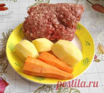Я взяла две картофелины, две моркови, немного фарша и приготовила вкусный ужин для всей семьи. Делюсь рецептом Простое блюдо из доступных продуктов. Очень вкусно, сочно, ароматно. Чем-то такие котлетки напоминают ленивые голубцы. Буду рада, если рецепт вам понравится) Способ приготовления: Фото автора Морковь натереть на мелкой терке. Фото автора Картофель натереть на крупной терке. Фото автора... Читай дальше на сайте. Жми подробнее ➡