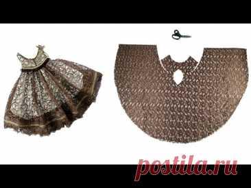Легче шить и вырезать платье для 2021 / последней швейное девочки платья