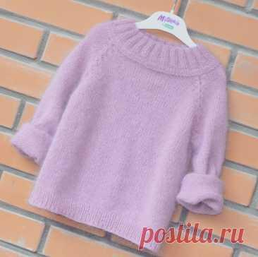 Мк на кофточку Пушинку от cherry_knit_