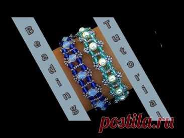 Beautiful & Elegant beaded bracelet patterns. Bracelet Tutorial