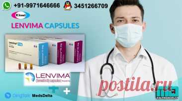 Buy now Lenvatinib Brands online from MedsDelta supplier and exporter, get some answers concerning the Levatinib brands cost including against disease prescription Lenvima, Lenvenib, Lenvatol, Bdfoie, Lenvakast and Lenshil created by Eisai, Sun Pharma, Cipla, BDR Pharma, Aprazer Healthcare and Shilpa Medicare. Call/WhatsApp: +91–9971646666, QQ: 3451266709 for demand online Lenvima E7080 Capsules at markdown cost. MedsDelta accepted exporter and supplier passing on you worldwide