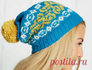 Очень много интересных шапок спицами и крючком | Вязание в радость | Яндекс Дзен