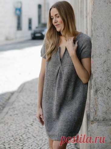 Платье спицами LOTTA от MARIE GREENE, Вязание для женщин