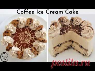 Кофейный Мороженое День Рождения Торт Многослойное Шоколадное Печенье Мороженое Торт
