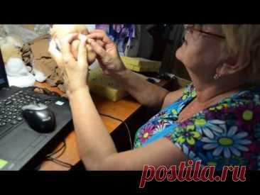 мастер класс по изготовлению скульптурной -текстильной куклы ч.8 - YouTube
