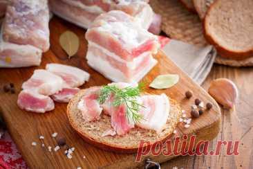 Сало в рассоле с чесноком рецепт с фото пошагово и видео - 1000.menu