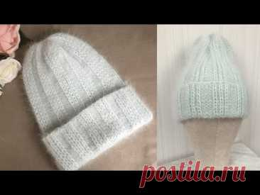 "ВЯЗАНАЯ ЖЕНСКАЯ ШАПКА ""winter hat"""