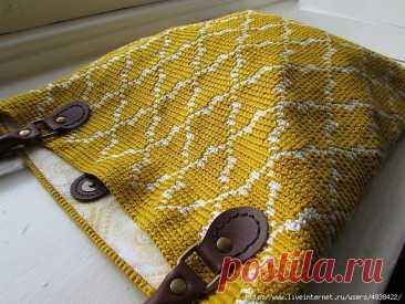 Марокканская сумка – Moroccan tote (Вязание крючком) – Журнал Вдохновение Рукодельницы