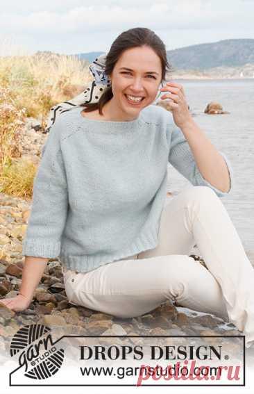 Джемпер Blue Glaze Sweater - блог экспертов интернет-магазина пряжи 5motkov.ru