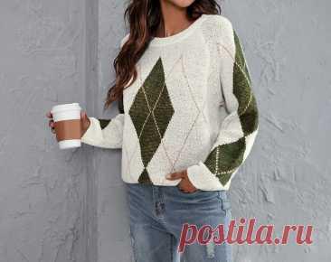 Модные, стильные, эффектные! Подборка вязаных пуловеров | Идеи рукоделия | Яндекс Дзен