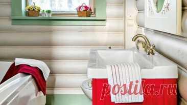 8 дачных санузлов, которые выглядят стильно и продуманно Подборка красивых санузлов в разных стилях для тех, кто ищет вдохновение и новые идеи для интерьера загородного дома. Интерьер санузла на даче тоже может быть стильным и красивым. Отдельно стоящая ванна, винтажная тумба под раковину, необычные обои – все это в сочетании с продуманной эргономикой сделает интерьер дачной ванной запоминающимся. Мы собрали в статье подборку санузлов в загородных домах. Это и дачи, куда п...