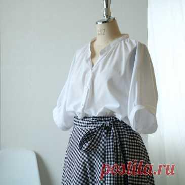 Стильная блуза оверсайз (выкройка+Diy) / Простые выкройки / ВТОРАЯ УЛИЦА - Выкройки, мода и современное рукоделие и DIY