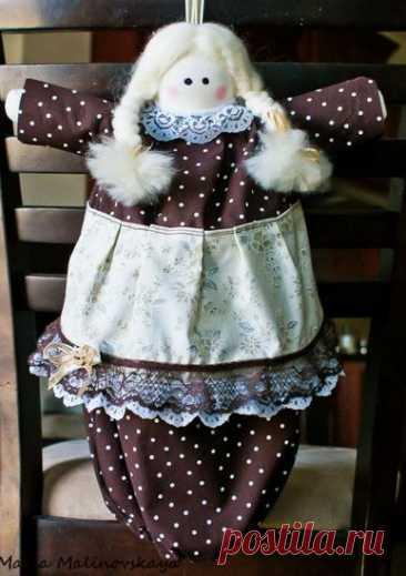 Кукла пакетница: выкройка в натуральную величину, фото и видео мк