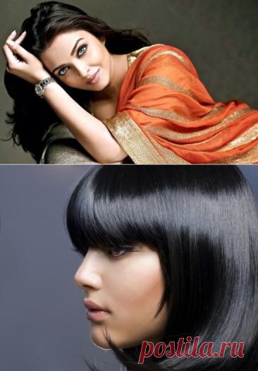 Басма для волос: польза и вред. Удивительные секреты и рецепты применения басмы для волос.