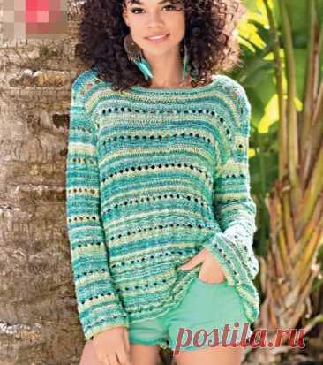 Листаю журнал за 2019 год, выбираю модель для вязания летнего наряда | Рекомендательная система Пульс Mail.ru