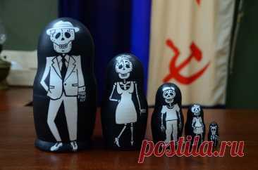 Русская Матрешка Бабушка Деревянные вложенные куклы Семейный   Etsy