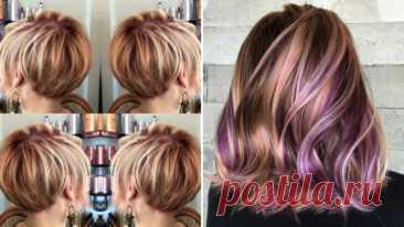 Модное окрашивание волос, на любую длину – ВСЕ ПРОСТО