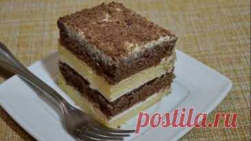 #Очень #вкусный #домашний #торт #из #простых #продуктов! (Простой вкусный #рецепт)