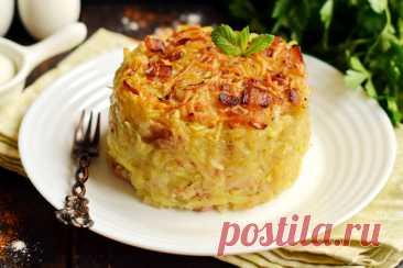 Картофельная «бабка» по-белорусски – лучше и проще драников (мой муж готов есть её хоть каждый день) Вторые блюда