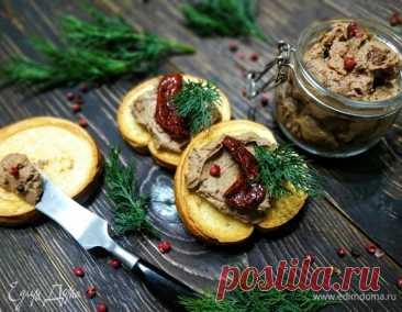 Паштет из куриной печени с коньяком, пошаговый рецепт, фото, ингредиенты - Ольга