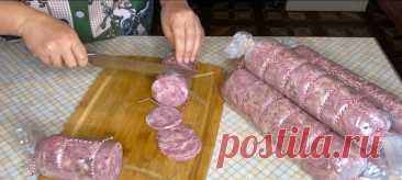 КОЛБАСА в пакете для всех из любого МЯСА Домашняя колбаса Ингредиенты на 1 кг мяса: 80-100 гр воды 20 гр соли Домашняя Ветчина Ингредиенты: 1 кг свинины средней жирности 0.5 кг говядины ( можно вместо говядины использовать свинину) 1 ст.л сухого лука 1/2 ч.л сухого чеснока 20 г сухого молока 21 г соли (обычной) + 4 г нитритной соли 6.25% (или 25 г […]