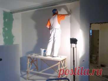 Шпаклевка стен своими руками  Шпаклевка стен своими руками возможна, если иметь определенные знания и опыт работы со строительными материалами. В данной статье мы хотим рассказать вам, как правильно выполнять шпаклевку стен под различные виды отделки: покраску или оклейку обоев. Многие из вас встречали такой термин финишная шпаклевка, но хочу сказать, что любой вид данного материала можно назвать финишным. Показать полностью...